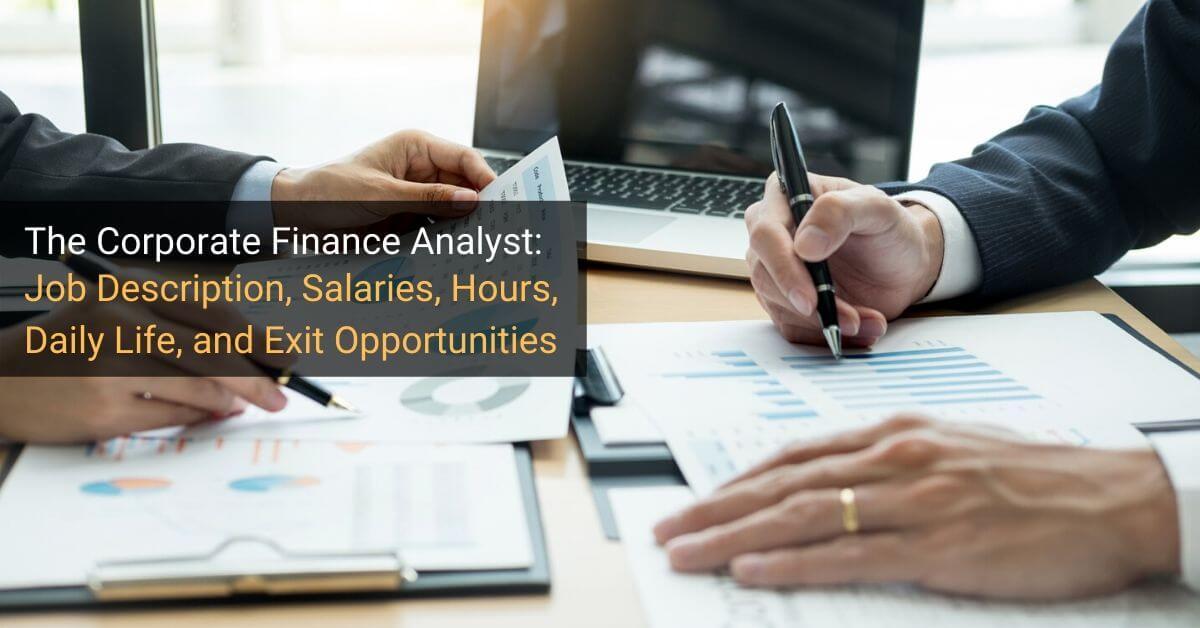 Corporate Finance Analyst