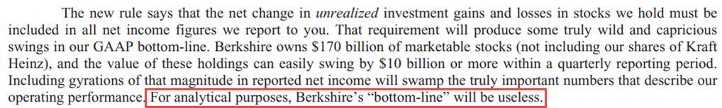 Berkshire Hathaway - Net Income